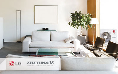 LG Therma V Air-to-Water Heat Pump System